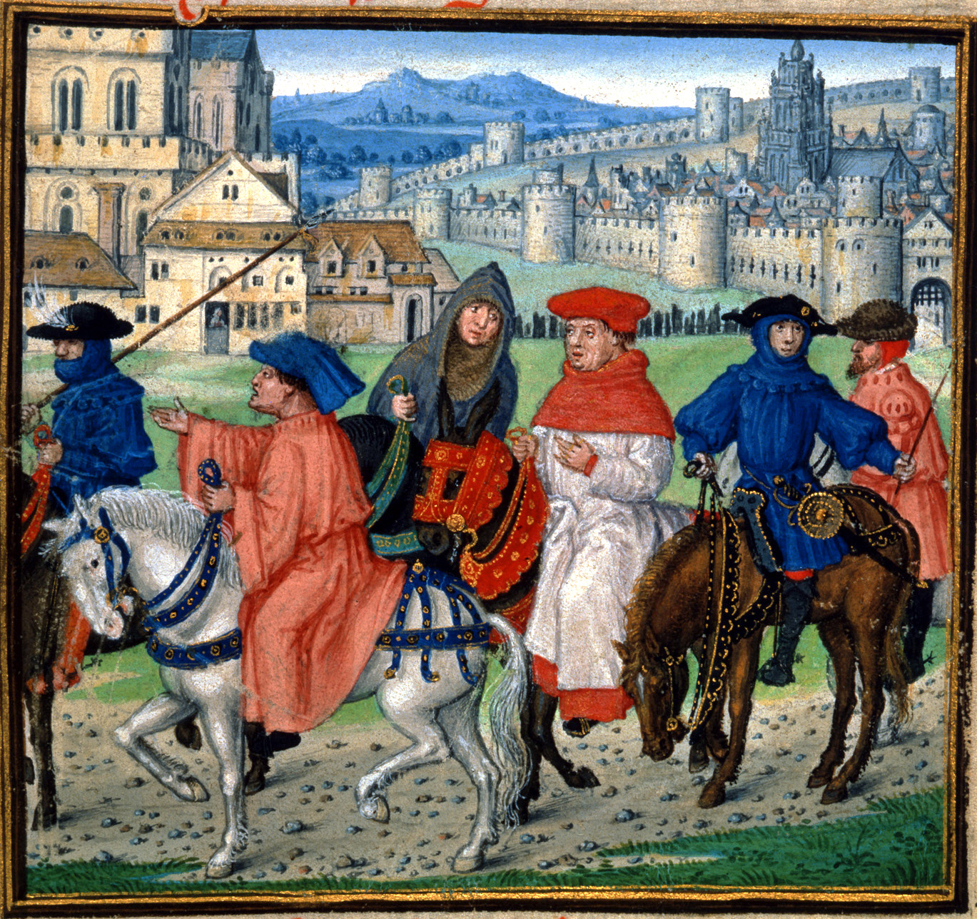 the story of the twenty nine pilgrims in geoffrey chaucers canterbury tales