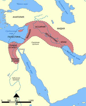 Fertile Crescent map rus.png