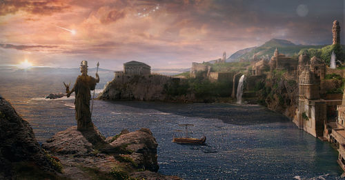 Atlantis the last sunrise by batkya-d4tuxzz.jpg
